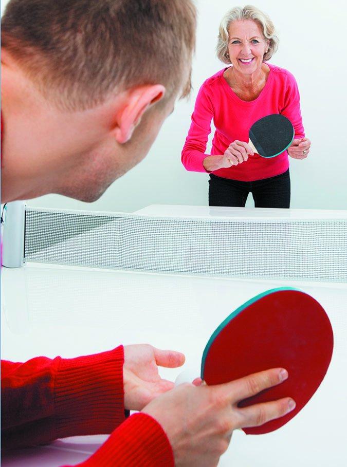 senior table tennis exercise
